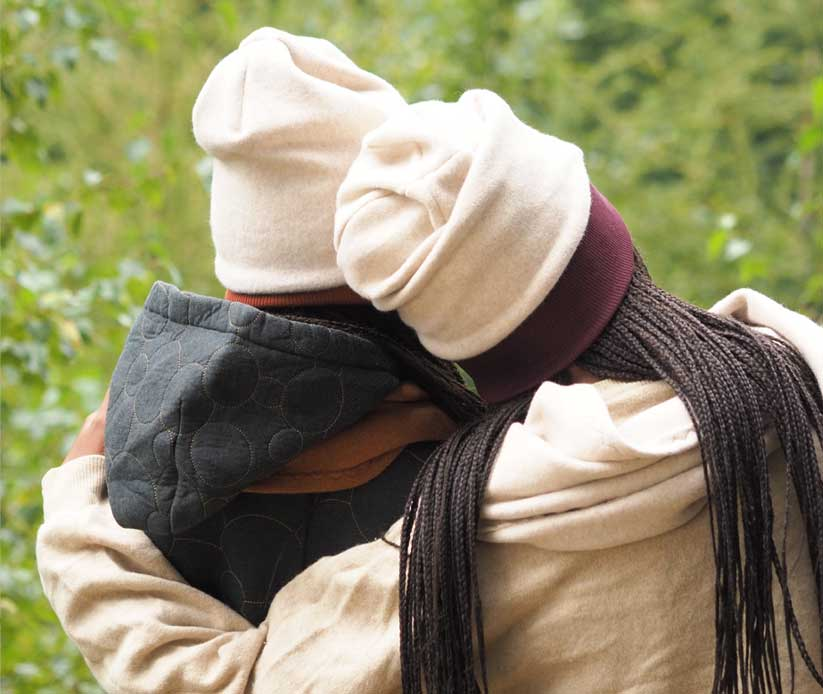 Biuwaa Pur Fleece Schals