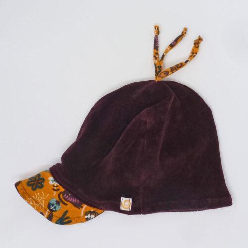 Biuwaa Pur Mütze mit Schirm